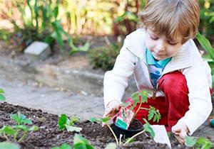 jardinage enfant 3 ans